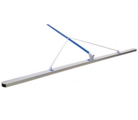 Fratacho MARSHALLTOWN Check Rod 3,00 mts. Con articulación y mango Modelo: 14963