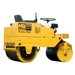 Rodillo compactador doble Multiquip R2000H listo