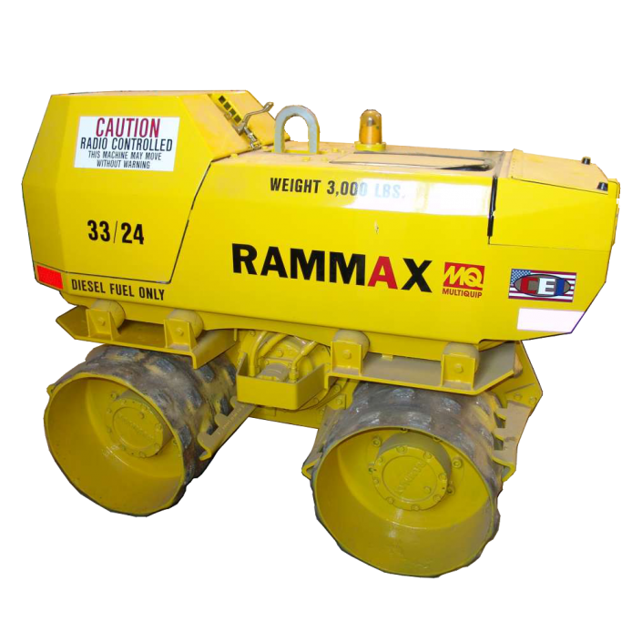 Rodillo vibratorio RAMMAX P33/24 pata de cabra