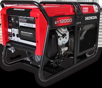 Generador HONDA ET12000 trifásico