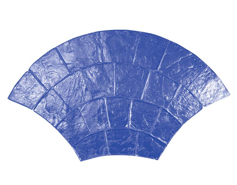 Molde rígido MARSHALLTOWN para hormigón estampado tipo adoquín curvo Modelo: 18110