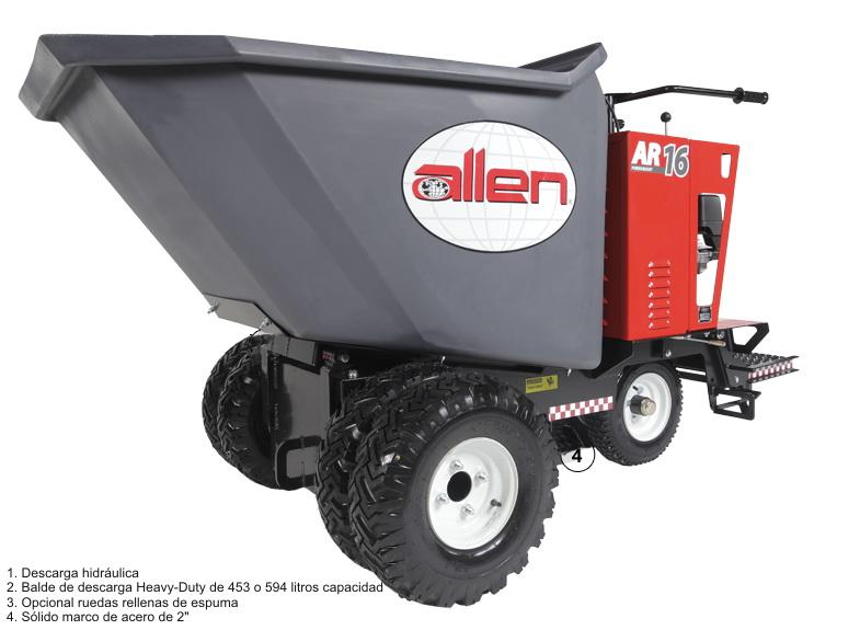 Volqueta Allen AR 16