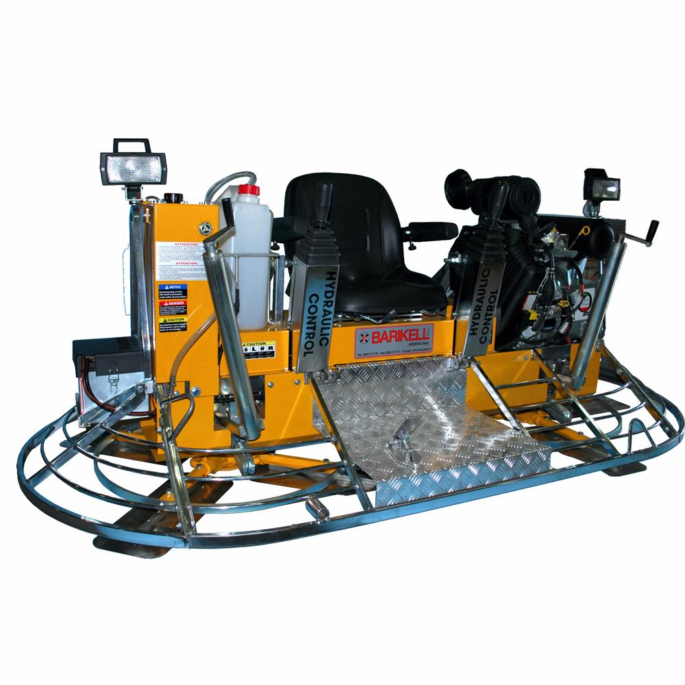Allanadora doble Barikell 120 cm. (46″) MK8-120HCD 35 HP Mando hidráulico