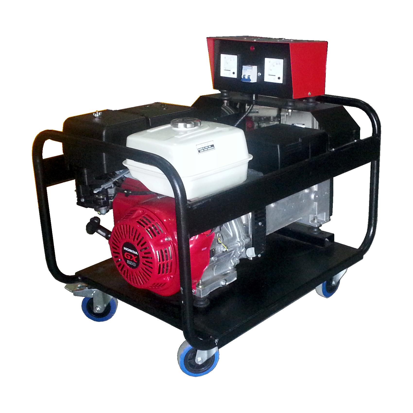 Generador 8 KVA monofásico 220 V con motor Honda 13 HP