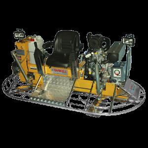 """Allanadoras doble BARIKELL120cm. (46"""") MK10-120HCD 35 HP 10 aspas"""