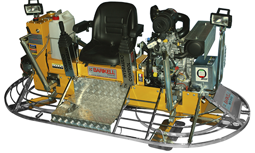 Allanadora doble BARIKELL120cm. (46″) MK10-120HCD 35 HP 10 aspas